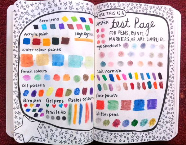 Color Journal Ideas : 193 best wreck this journal ideas images on pinterest