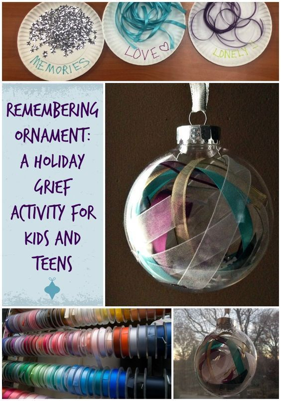 Grief activities for young adults