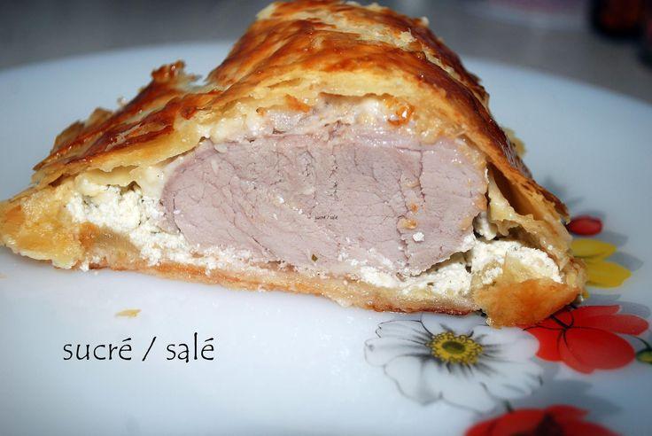 Filet+mignon+au+boursin+en+feuilleté