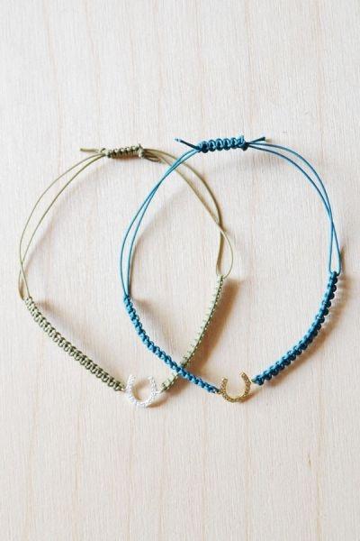 Horse Shoe String Bracelet | STYLEADDICT.COM.AU