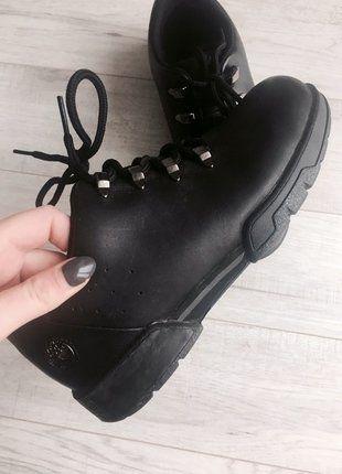 Kup mój przedmiot na #vintedpl http://www.vinted.pl/damskie-obuwie/obuwie-turystyczne/15862111-czarne-zimowe-buty-timberland-markowe-hit-rozmiar-37-skora-naturalna