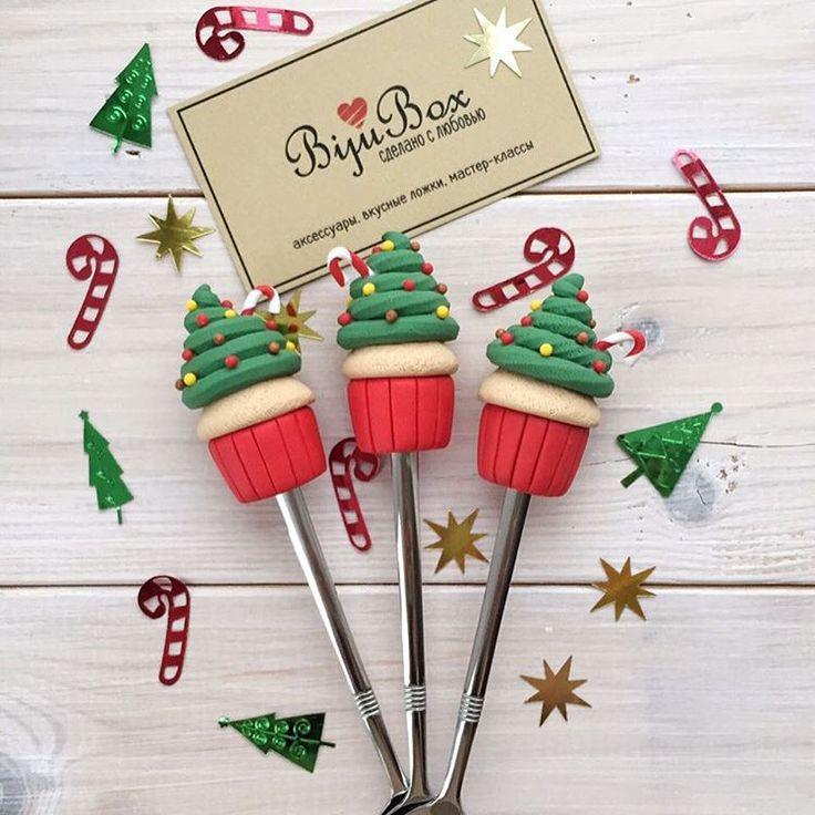 «Продолжаем заряжать вас новогодним настроением  подготовили новинку - кексы-ёлочки, очень праздничные и очень аппетитные   #сделанослюбовью…»