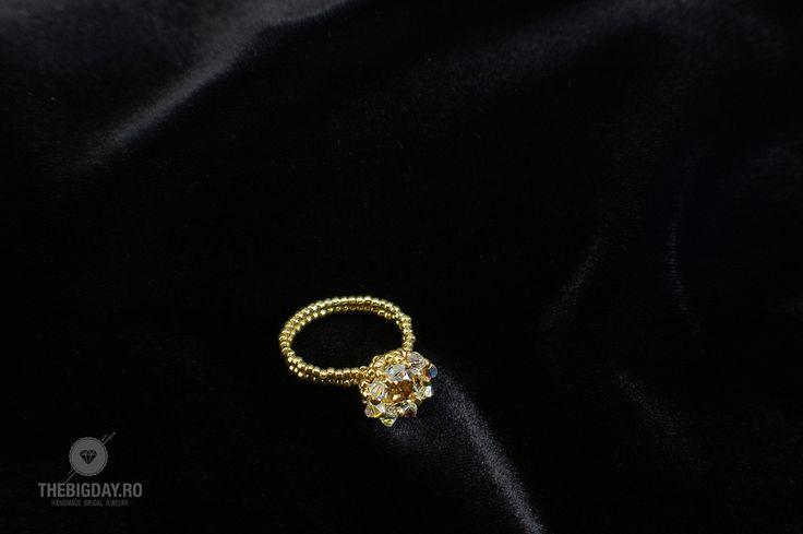 The Big Day   #1-0013 Inel Swarovski I Do http://thebigday.ro/ #Swarovski #swarovskijewelry #jewelry #handmadejewelry #wedding #mireasa #bijuterii #cristale #bijuteriimireasa #nunta