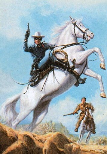 The lone ranger #56 1997 by Jimmy Tyler, via Flickr