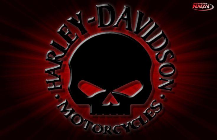 Logo Harley SKULL Skulls Motorcycles Davidson