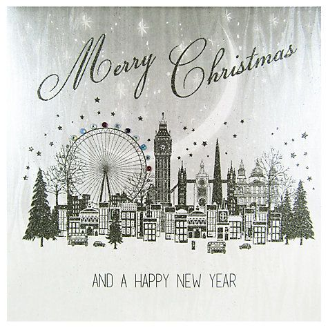 Buy Five Dollar Shake Cityscape Christmas Card Online at johnlewis.com