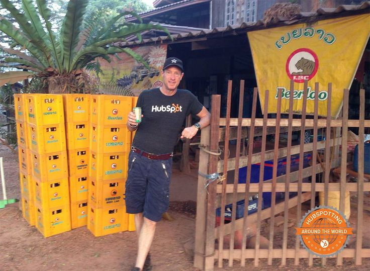 Where in the world is David Meerman Scott? He sent us this photo as he HubSpots in Laos. Looks like he's enjoying Southeast Asia!