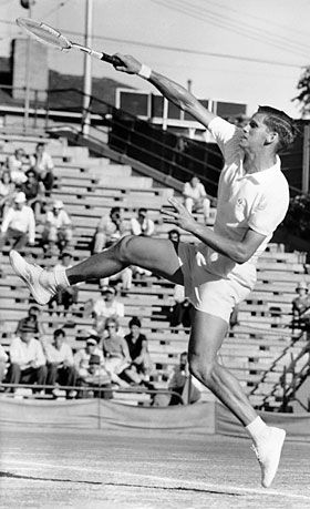 Tennis - Hall of Fame  -  Roy Emerson