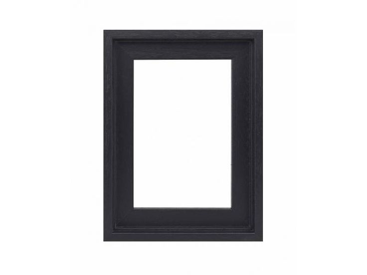DLF Premium Baklijst zwart - inlijsten schilderij of foto op doek