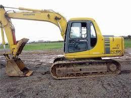 komatsu pc100 6 pc120 6 excavator service shop manual
