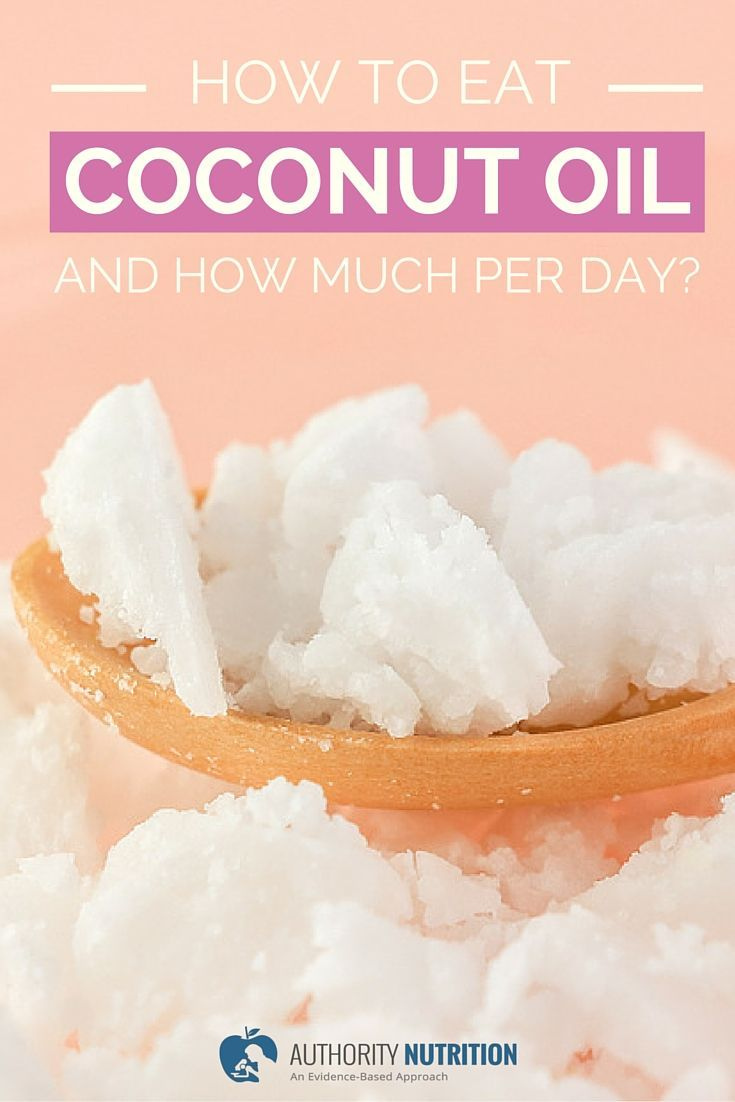 You might know that coconut oil is good for you, but you may not know how much to take or how to eat it. This article has the answers. Learn more here: https://authoritynutrition.com/how-to-eat-coconut-oil/