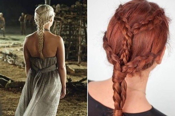 Hairstyles With Dutch Braids: 370 Best Braided Hairstyles Images On Pinterest