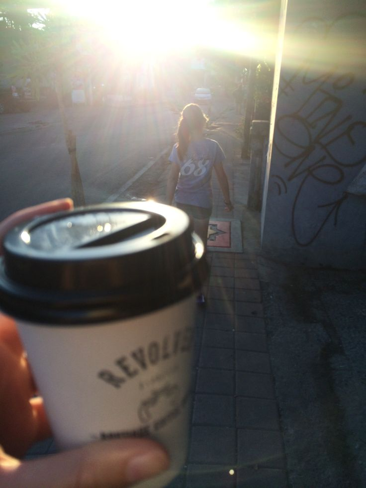 Baby revs opens at 7am for the best, little coffee kick around Petitenget!