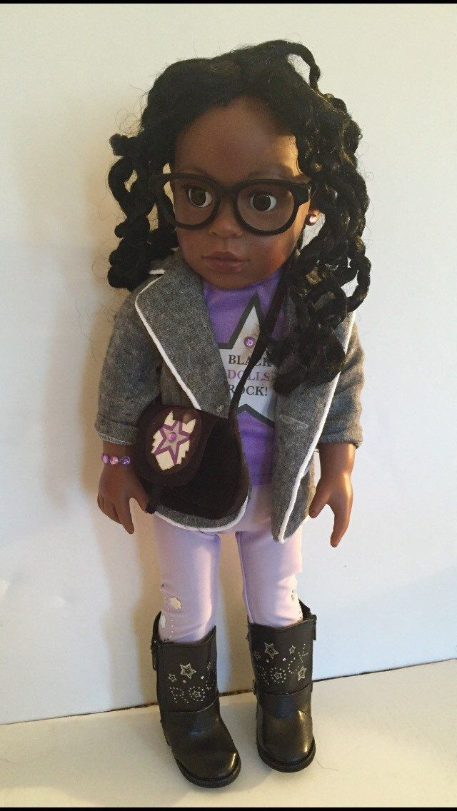 A personal favorite from my Etsy shop https://www.etsy.com/listing/261977300/natural-hair-doll-with-twist-black-dolls