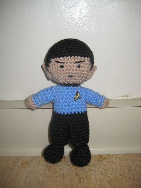 Ravelry - Free #amigurumi pattern for #Spock by Marielle Pinheiro #StarTrek