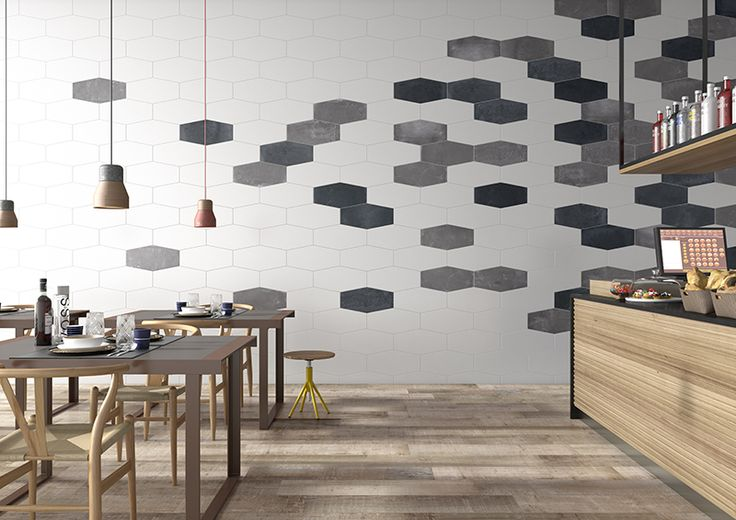 Factory Hex Anthracite 240x490