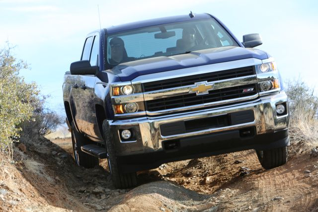 Off-Road driving is possible in the new 2015 Chevy Silverado!