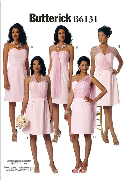 Misses Dress And Sash Erick Pattern 6131