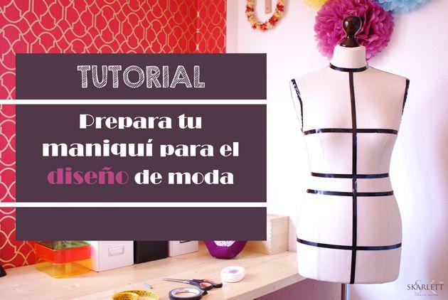 Prepara tu maniquí para el diseño de moda