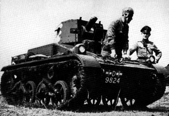 Dutch light tank - British built Vickers Model 1936 - Netherlands East Indies
