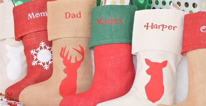 Christmas Stockings for the WHOLE family - including pets!