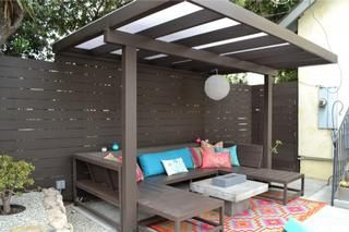 modern pergola - simple and clean.