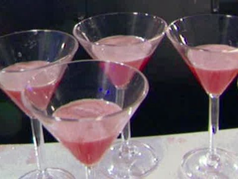 Not a big martini drinker - but this one looks good!  Watermelon Martinis from FoodNetwork.com