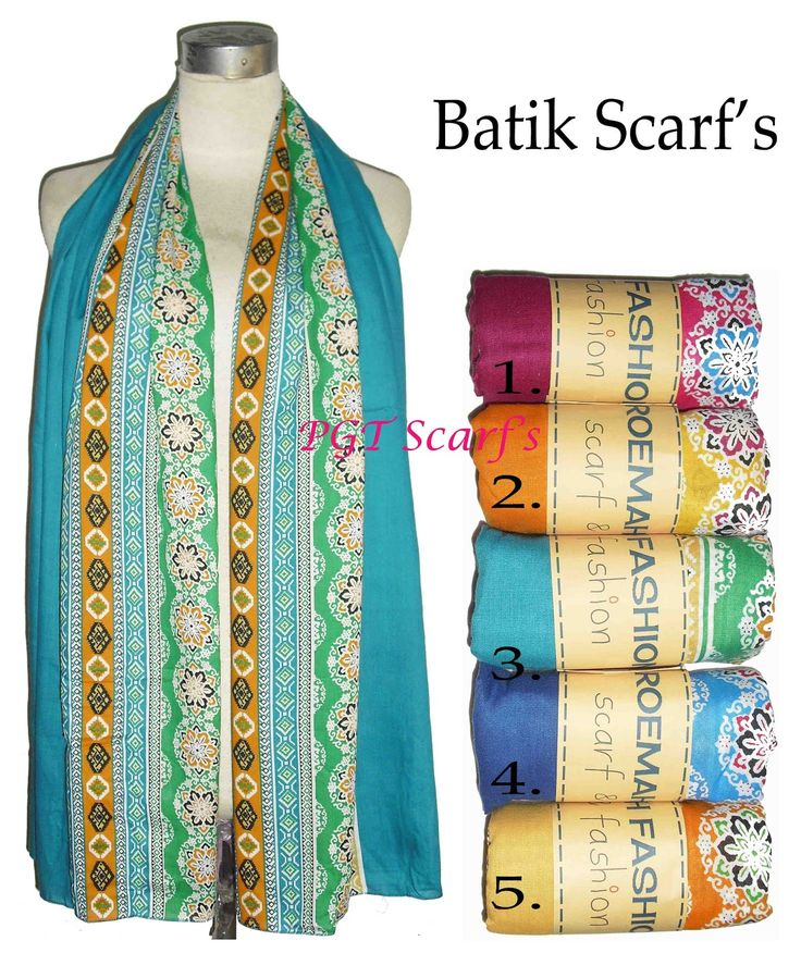 grosir distributor pashmina shawl scarf scarves syal selendang batik katun murah