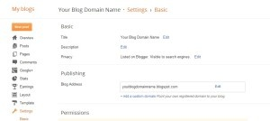 Blogger.com User Can Able to Learn Advance Methods to Rename the Blogger's Sub domain Without Creating New One. Understand the Advance Tips and Tricks