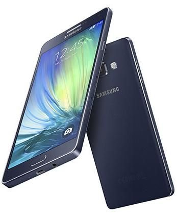 Samsung's Galaxy A7, one of the company's slimmest smartphones ever.