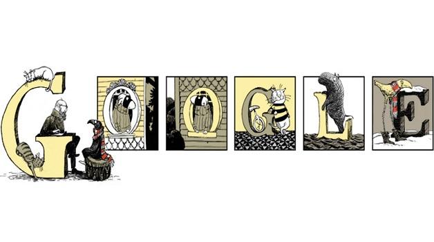 Il doodle di Google è per il fumetto gotico di Edward Gorey