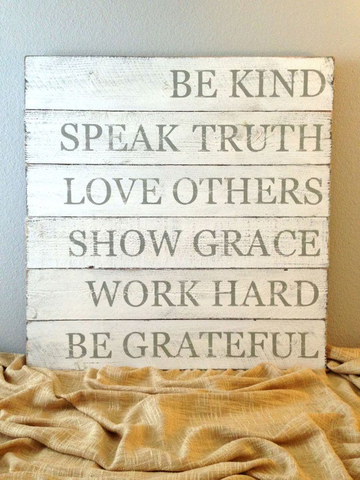 Made to Order Inspirational Quote / Message Rustic Distressed Wooden Sign - Reclaimed Wood - Family Room Sign Custom Colors by RusticDeSIGNS1 on Etsy