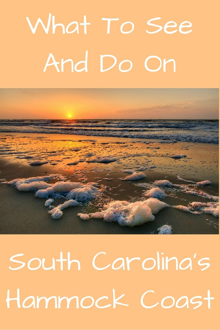 My favorite part of South Carolina is the exquisite Hammock Coast, including the towns of Garden City, Murrell's Inlet, Pawley's Island, Litchfield, and Georgetown. Have you ever been? What is your favorite?