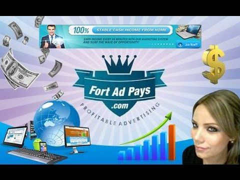 FORTADPAYS!! >> Never experienced pay pal drama >> No Monthly Membership Fee >> All Shares cost just $1and gives you $2.20 (220%) on maturing >> Get paid every 30 Minutes >> Launched OCT 2014 that's Over 14 Months Running with over 111,000 members >> Daily withdraw Minimum $10 and $3200 maximum >> 10 levels deep referral commission (8%, 4%, 2%, 1%, 1%, 1%, 1%, 1%, 1%, 1%, 1%) >> Payment Processor are Payza, Perfect Money, 2Pay4You >> Only 4 Ads to surf Daily >> maximum number of adpacks is…