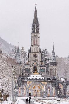 Lourdes, Francia.