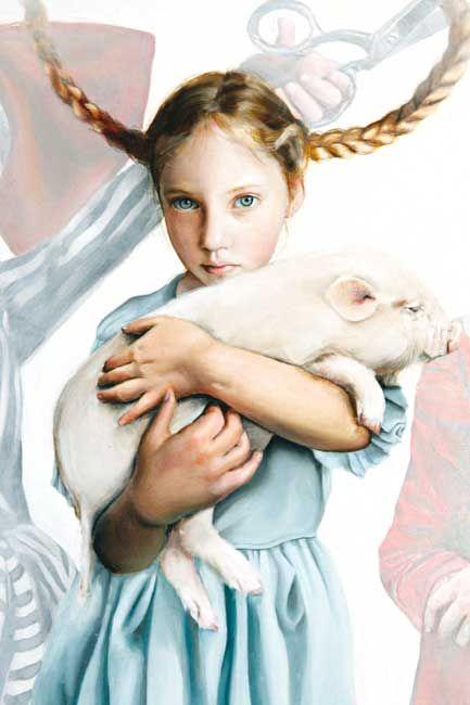 Margo Selski: The Three Tatis (detail)
