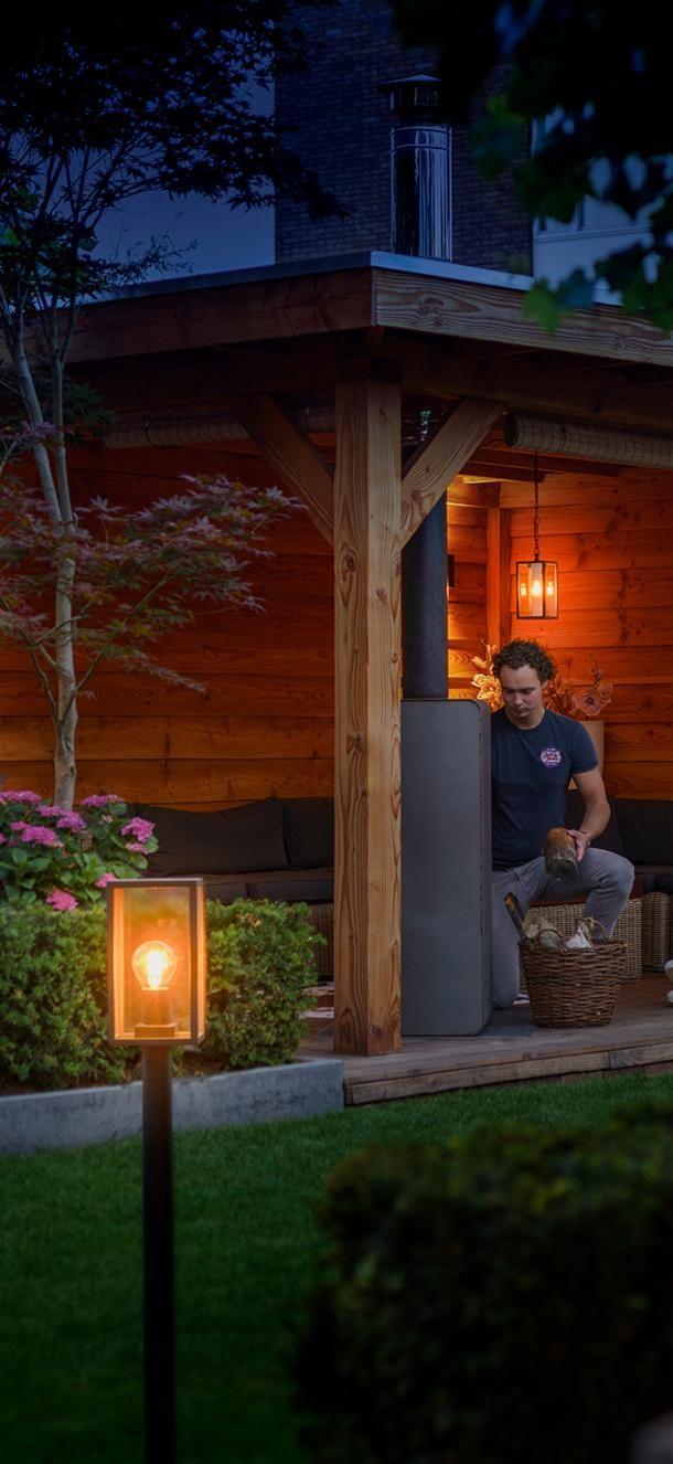 Met Onze 12 Volt Buitenverlichting Creeer Jij Een Warme Sfeer In Jouw Tuin Garden Lights 12 Volt Tuinverlichting Buitenverlichting Verlichting