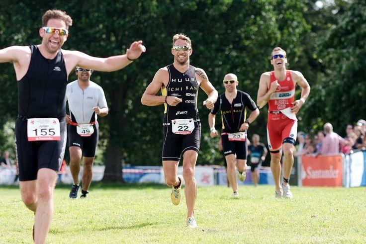 Jenson Button Trust Triathlon 2016 - First heat