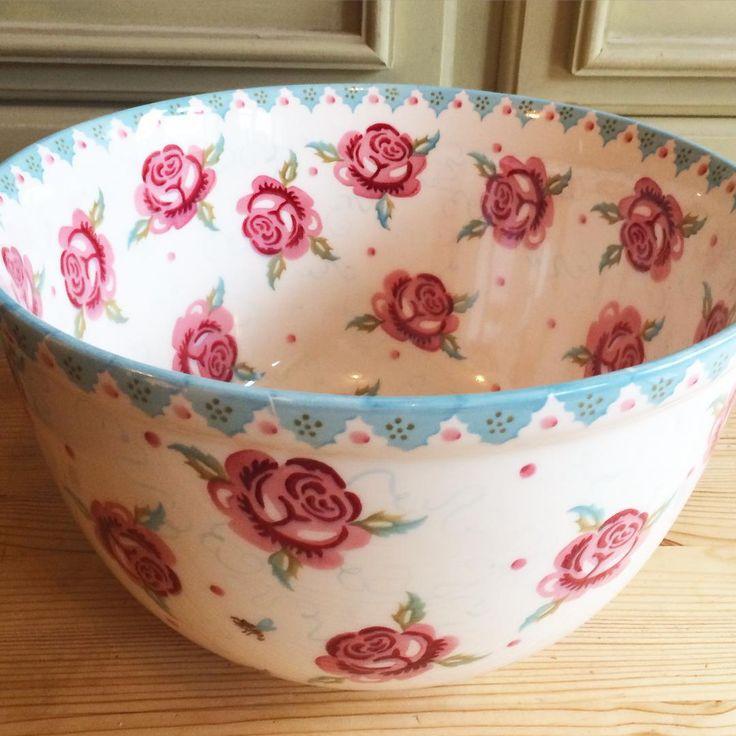 Rose & Bee Large Mixing Bowl