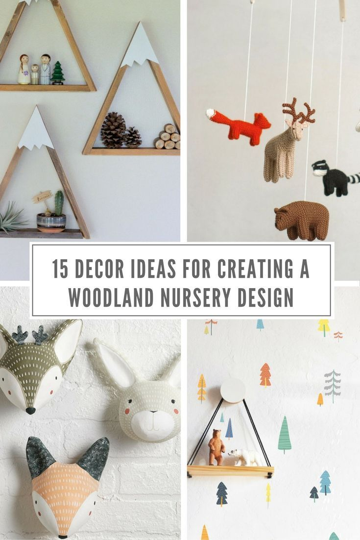 15 Decor Ideas For Creating A Woodland Nursery Des…