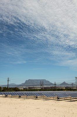 New solar panels at De Grendel