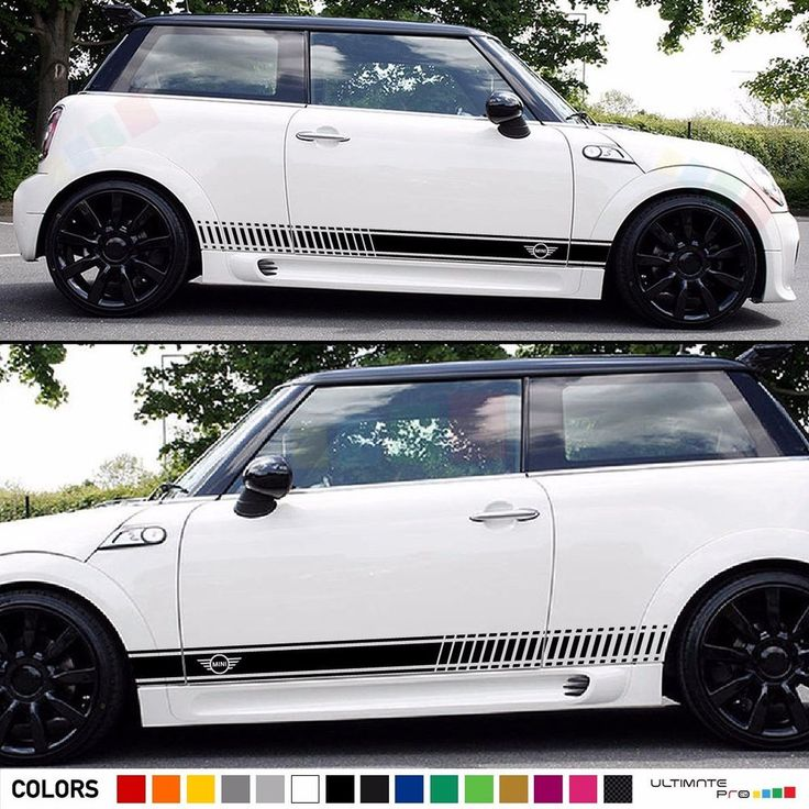 Sticker Decal Stripe Kit for Mini Cooper S Hatch Xenon Headlight Surrounds Cover #ultimateprocy1