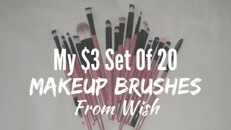 YAY my makeup brushes from #wish arrived and I am so happy. I've been watching those Youtube videos on how to blend eyeshadow like a pro and I needed more brushes... they cost a ton in most stores but I got a set of 20 for $3 including delivery fees!   #makeupbrushes #blendingeyeshadow #set20makeupbrushes #myonlinepurchases #myonlineshopping #wishapp #wishshopping