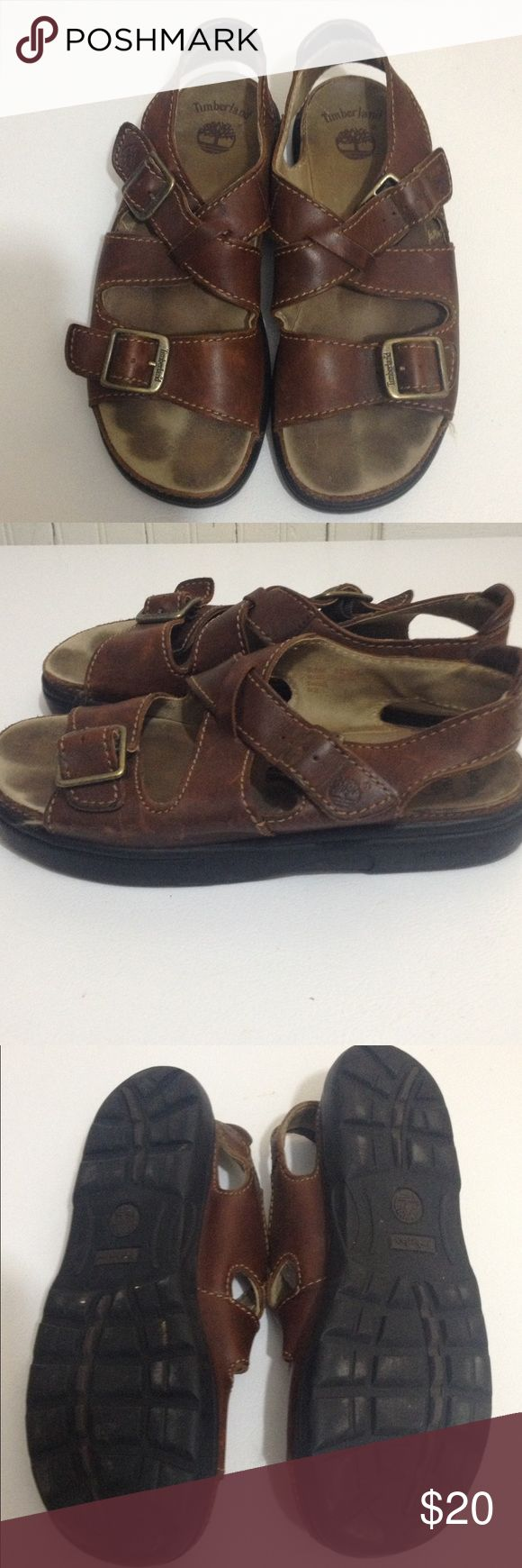 Women's Timberland Sandals Have not been worn much a lot of wear left. Comfortable sandal Timberland Shoes Sandals