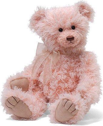 (via Gund - Pink Teddy Bear Alicia. Beautiful | ❤ Pink ❤ | Pinterest)
