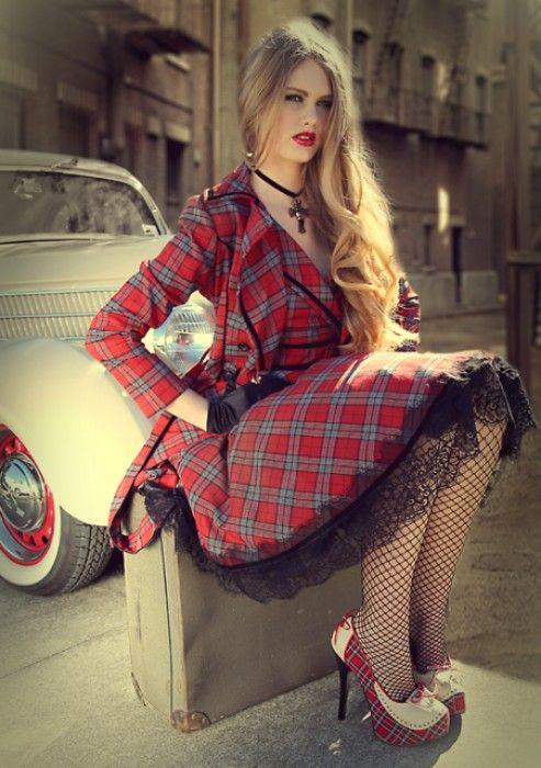 Pretty In Punk Mini Dress - Pretty In Punk - Collections