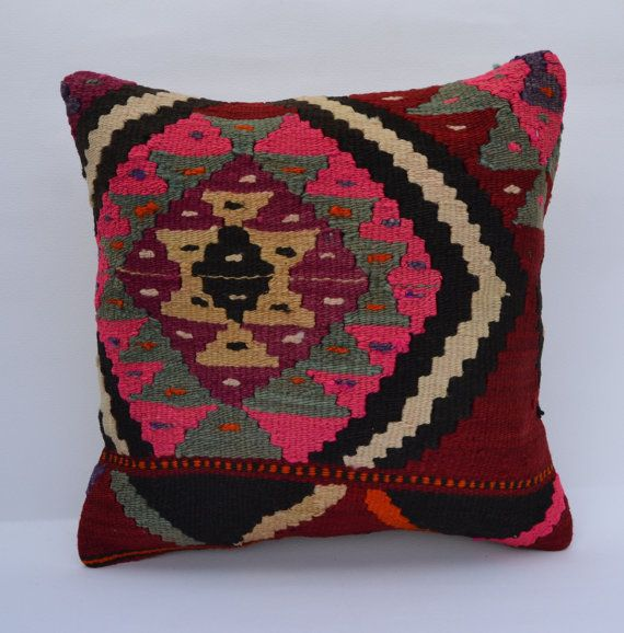Hey, I found this really awesome Etsy listing at https://www.etsy.com/listing/183778832/pink-kilim-pillow-case-ethnic-cushion