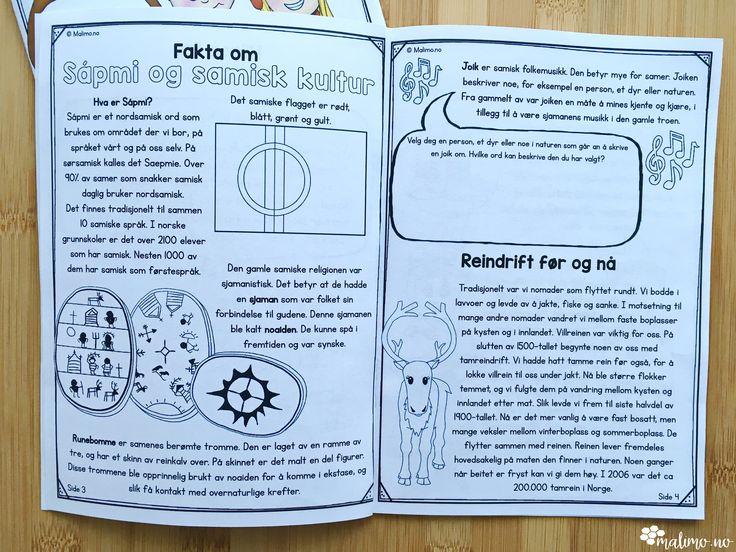 Malimo.no - nivådelte minibøker for å lære om samisk kultur og tradisjon