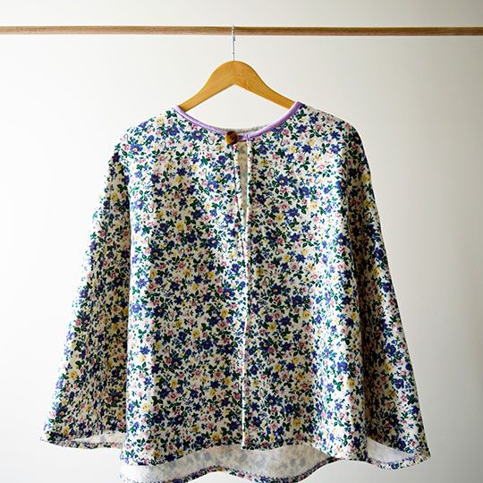 Made By Mee + Co | Floral Cape