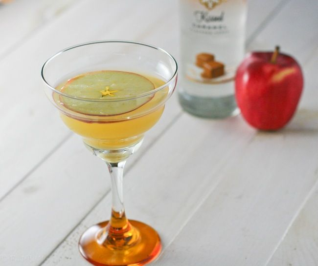 Smirnoff Kissed Caramel Apple Martini